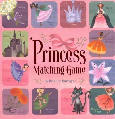Chronicle Books Princess Matching Game