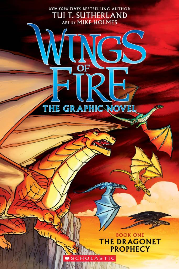 Graphix Wings of Fire 01 The Dragonet Prophecy (Graphic Novel)