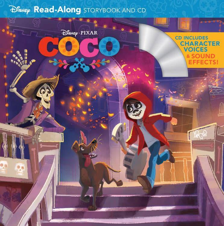 Disney Press Disney Pixar: Coco: Read-Along Storybook and CD