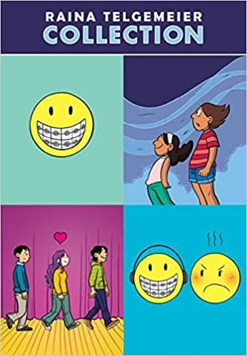 Scholastic Inc. The Raina Telgemeier Boxed Set Collection (4 Books)