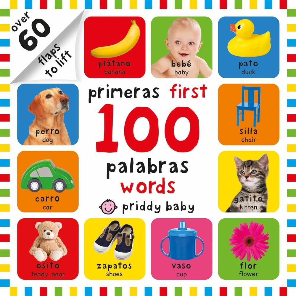 Priddy Books First 100 Lift-the-Flap Bilingual First Words (Spanish-English)