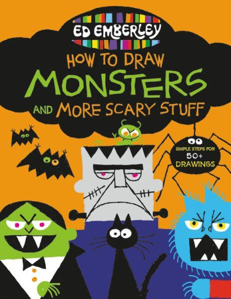 LB Kids Ed Emberley's How to Draw Monsters and More Scary Stuff