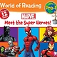 Marvel Press Marvel: Meet the Super Heroes! Boxed Set (World of Reading, Lvl Pre-1)
