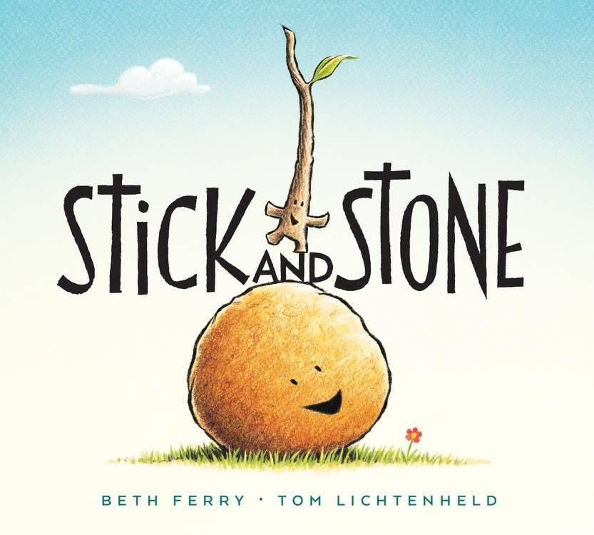 HMH Books for Young Readers Stick and Stone (board book)