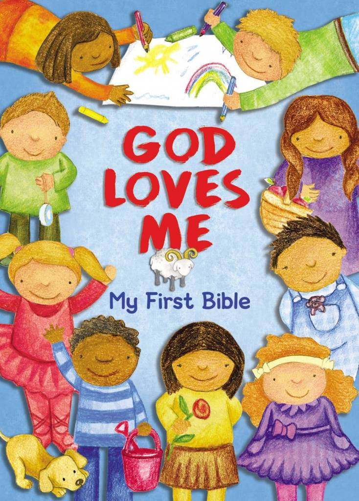 Zonderkidz God Loves Me: My First Bible (Board Book)
