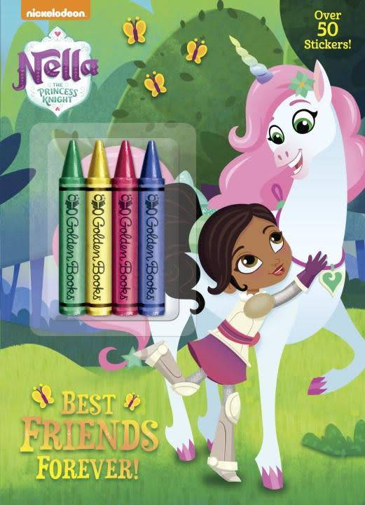 Golden Books Nella the Princess Knight: Best Friends Forever!