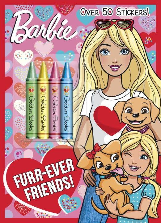 Golden Books Barbie: Furr-Ever Friends!