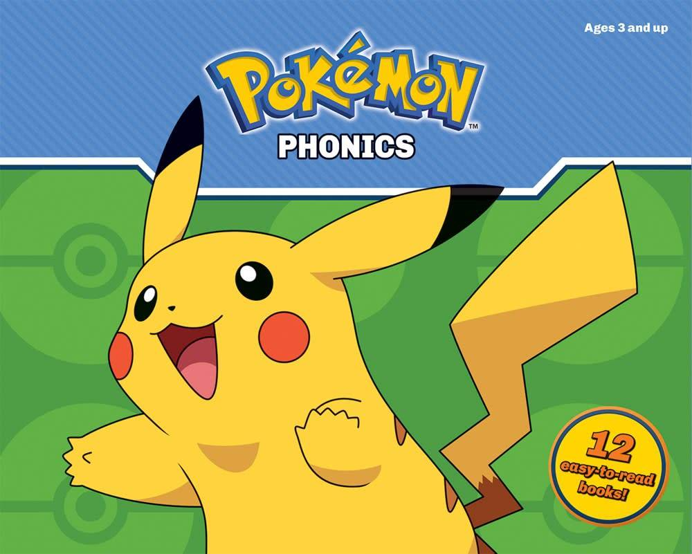 Scholastic Inc. Pokemon: Phonics Reading Program (12 Mini-Books)