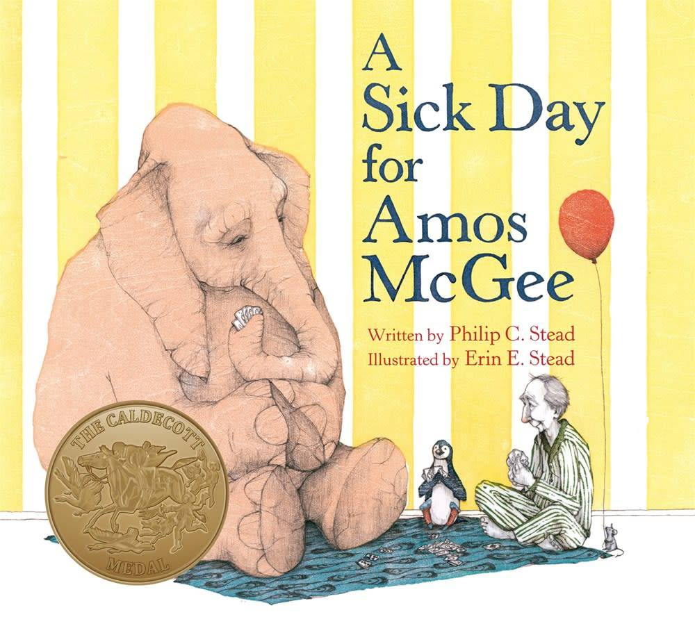 Roaring Brook Press A Sick Day for Amos McGee