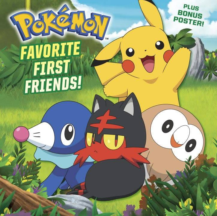 Random House Books for Young Readers Pokemon: Favorite First Friends!