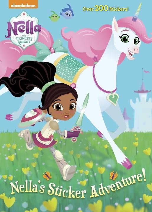 Golden Books Nella the Princess Knight: Nella's Sticker Adventure!