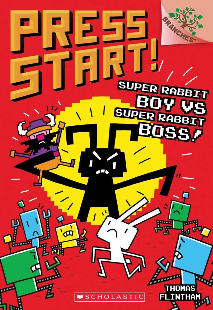 Branches Press Start! 04 Super Rabbit Boy vs. Super Rabbit Boss!