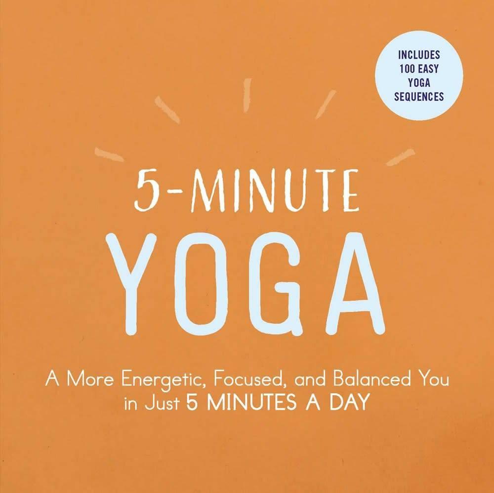 Adams Media 5-Minute Yoga