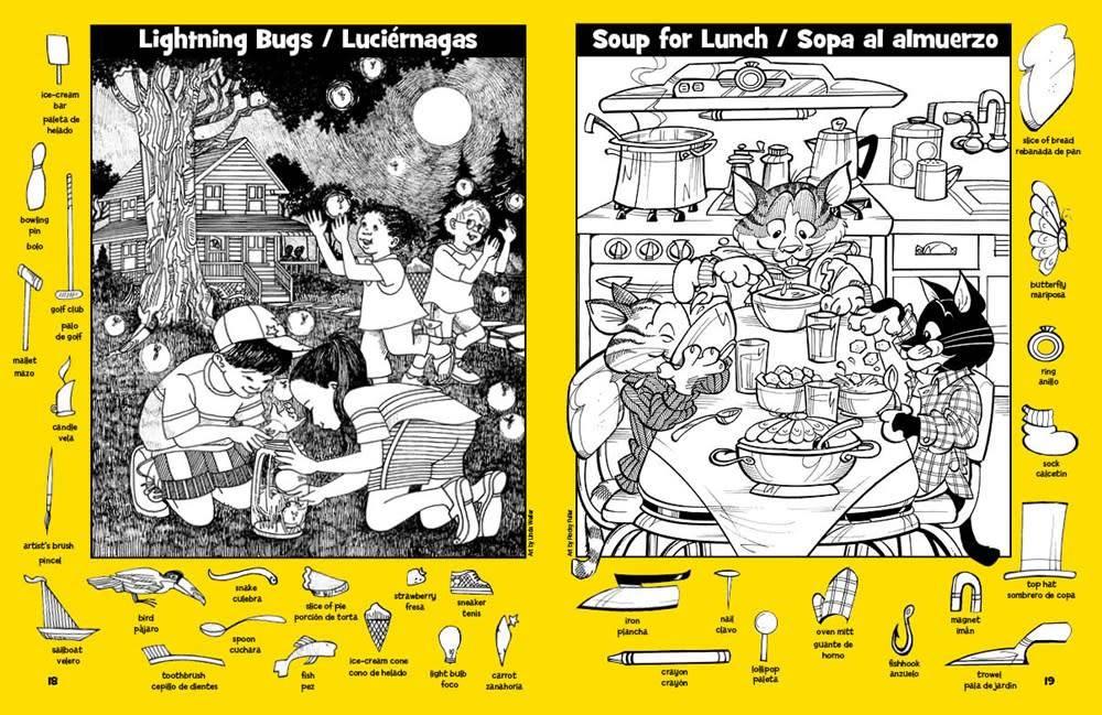 Highlights Press Hidden Pictures® Imágenes Escondidas (TM) 1