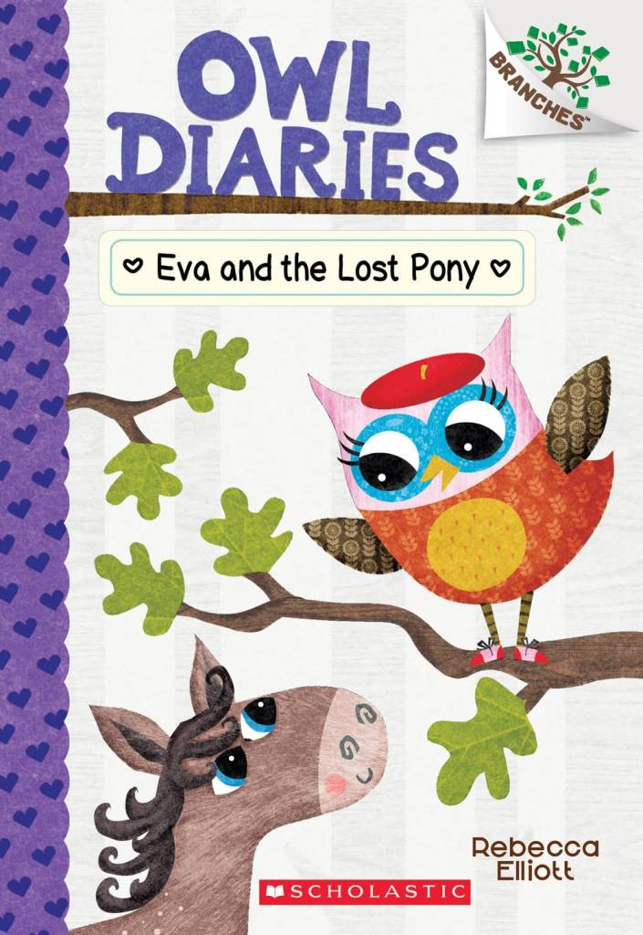 Scholastic Inc. Owl Diaries 08 Eva and the Lost Pony: A Branches Book