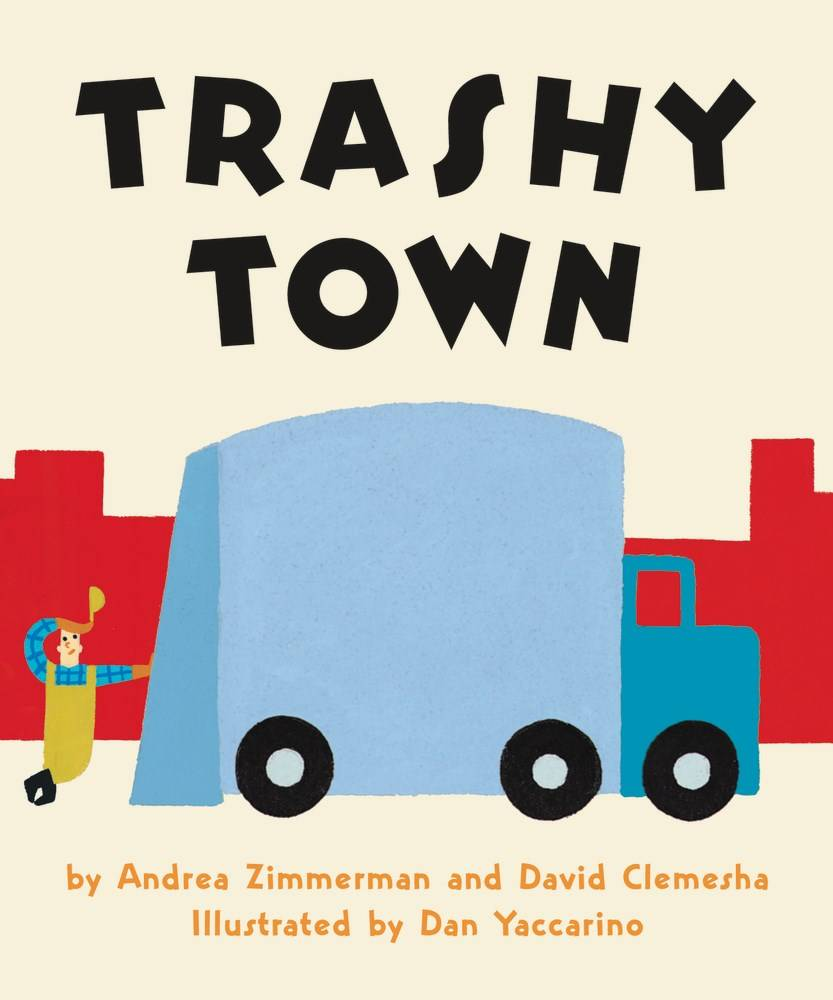 HarperFestival Trashy Town Board Book