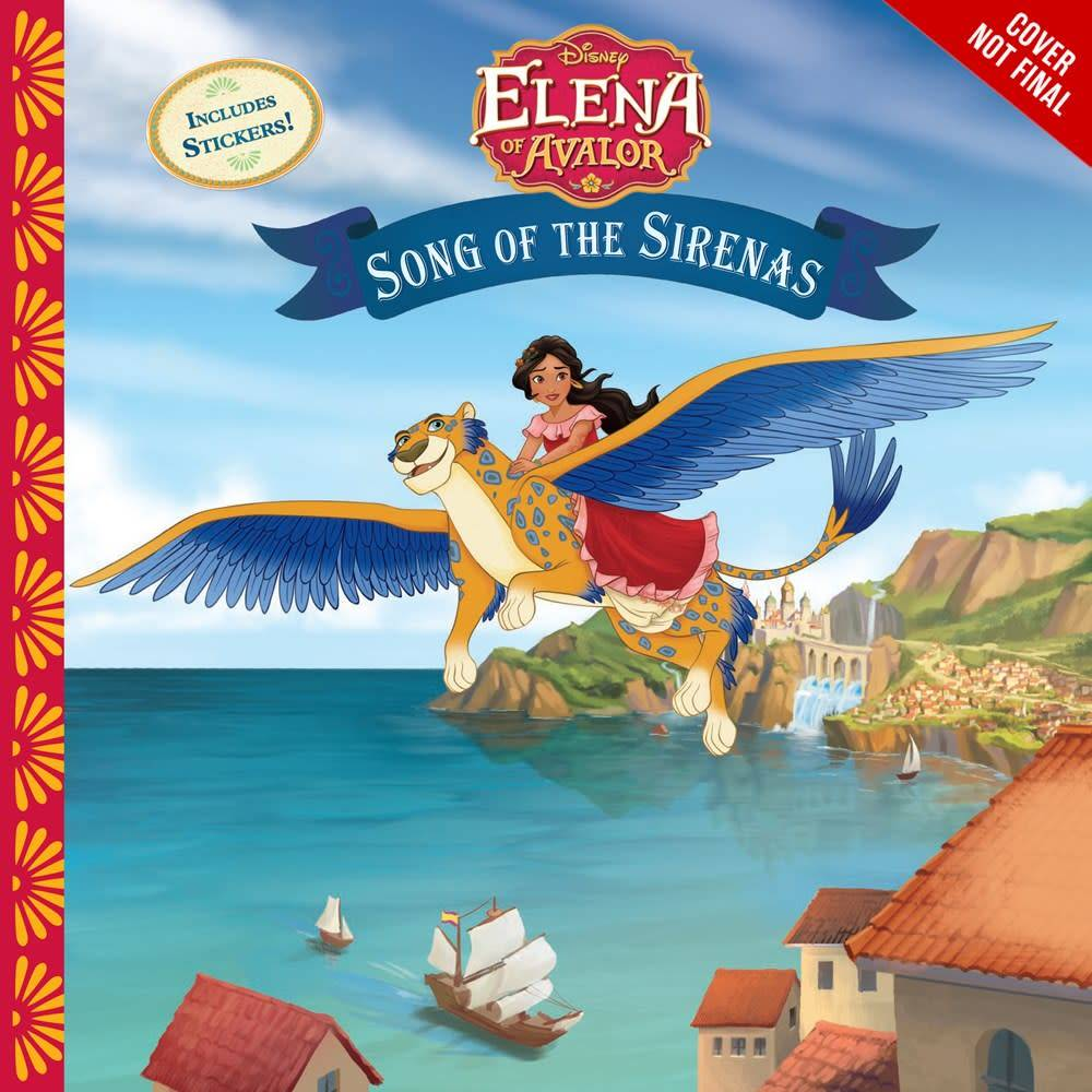 Disney Press Disney Elena of Avalor: Song of the Sirenas