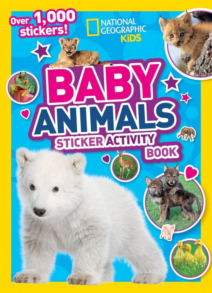 National Geographic Children's Books Nat Geo: Baby Animals (Sticker Activity Book)