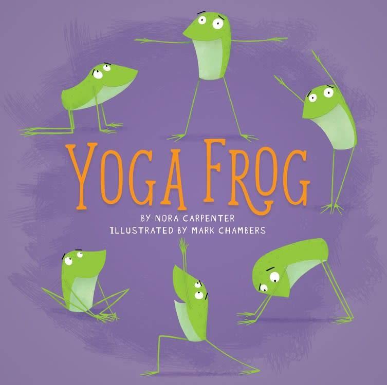 Running Press Yoga Frog