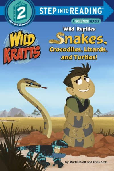 Random House Books for Young Readers Wild Kratts: Wild Reptiles (Step-into-Reading, Lvl 2)