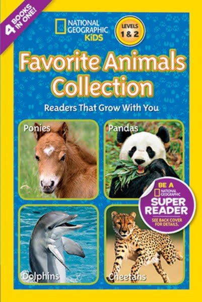 Favorite Animals Collection (Nat Geo Readers, 4-in-1)