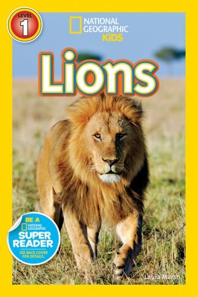 Lions (Nat Geo Readers, Lvl 1)