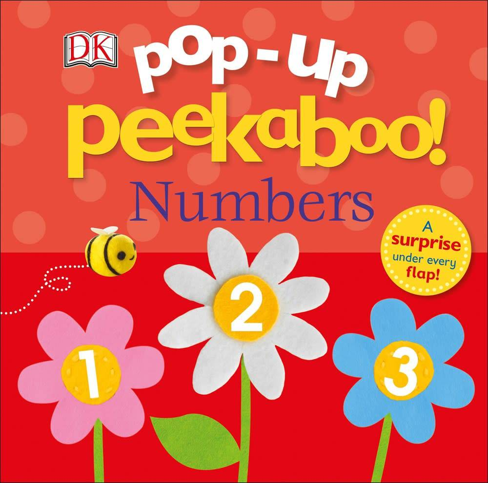 DK Children Pop-Up Peekaboo: Numbers