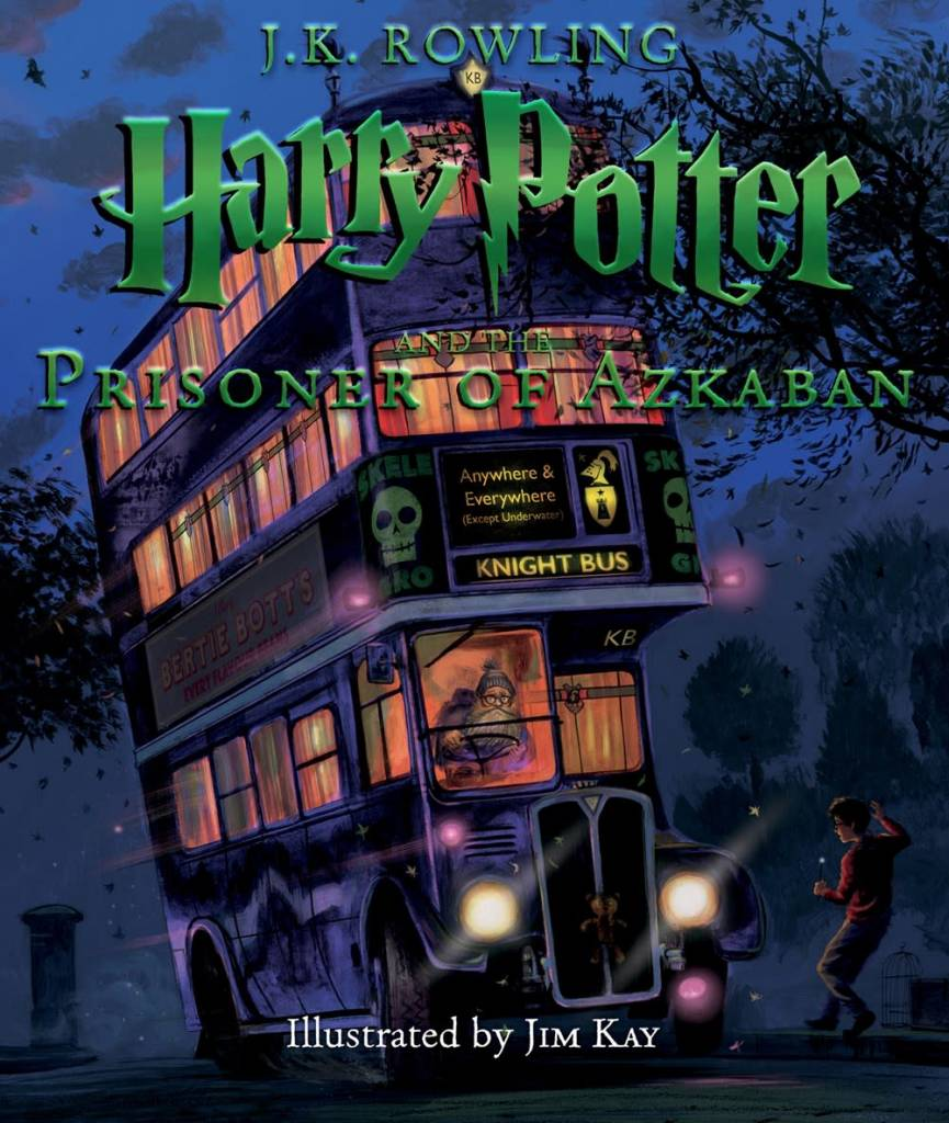 Arthur A. Levine Books Harry Potter 03 Prisoner of Azkaban (Illustrated Ed.)