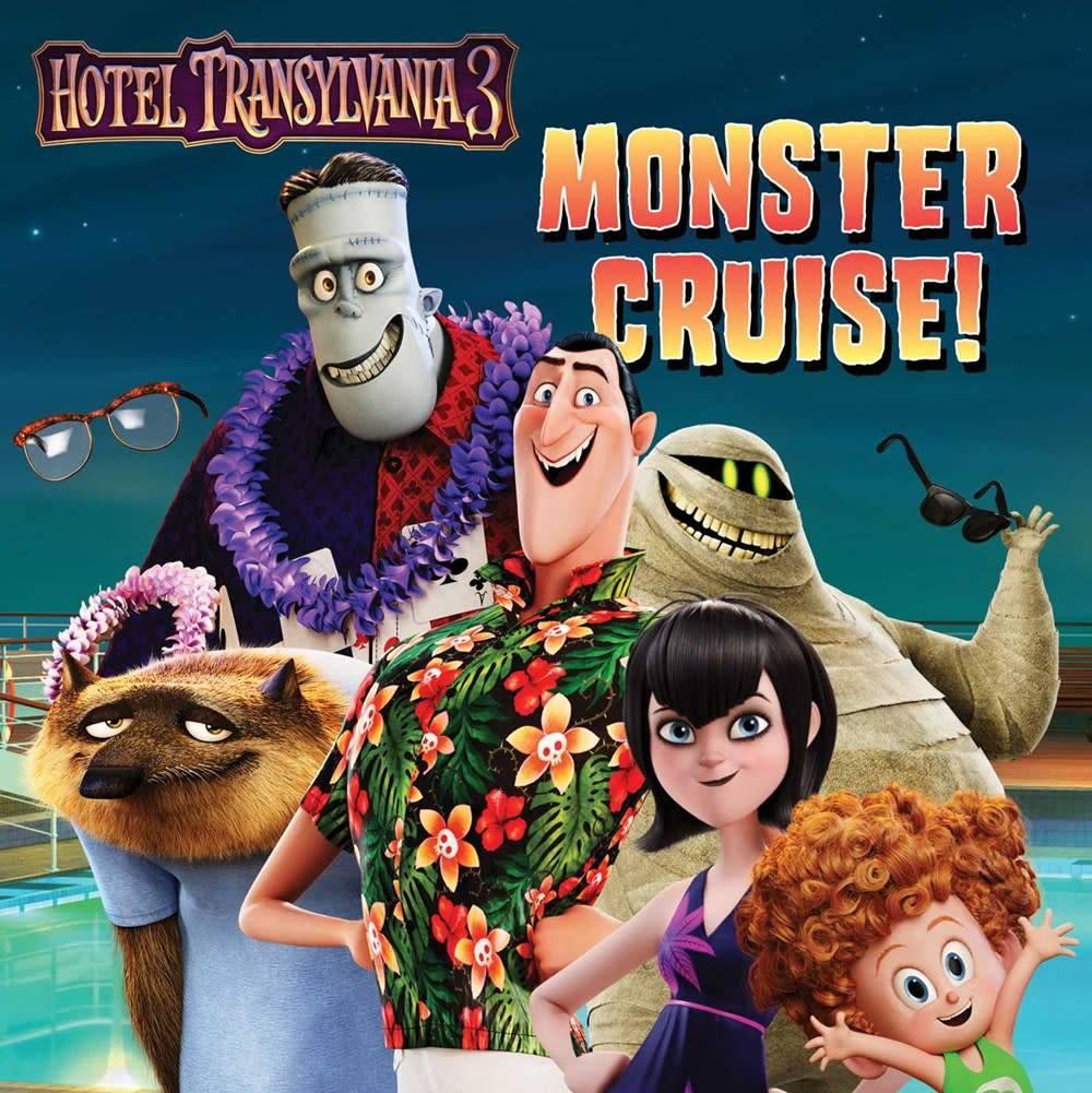Simon Spotlight Hotel Transylvania 3: Monster Cruise!