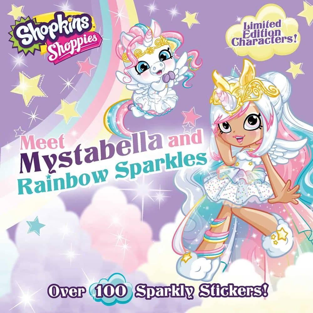 little bee books Shopkins Shoppies: Meet Mystabella and Rainbow Sparkles