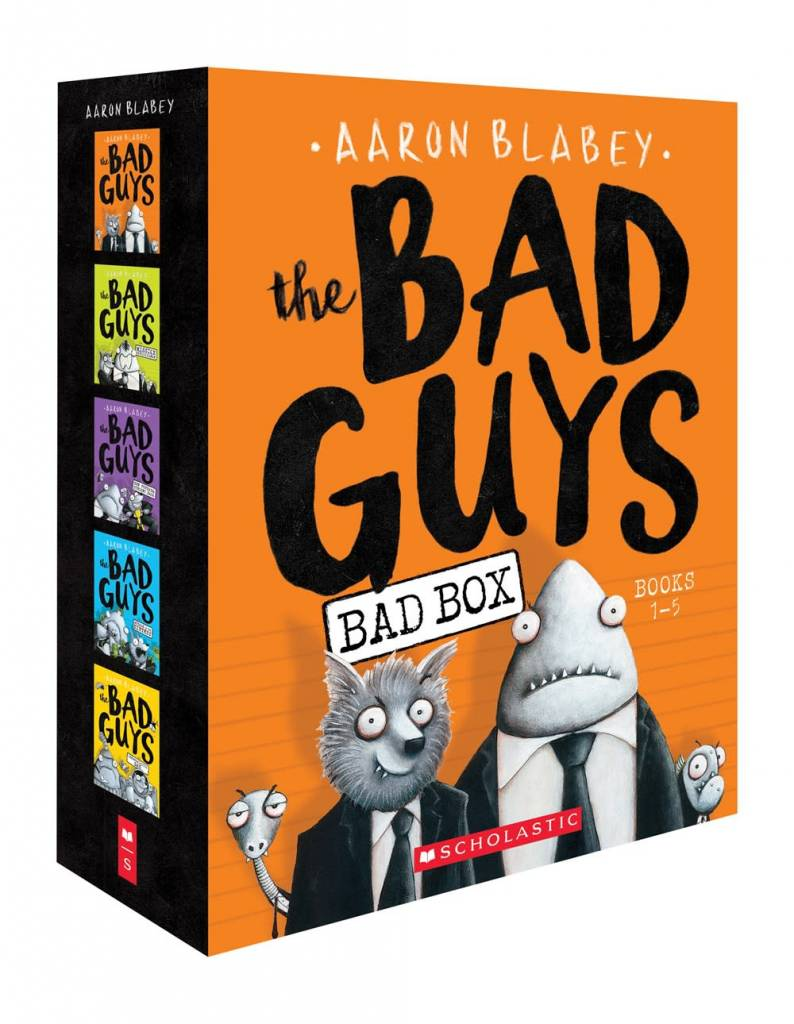 Scholastic Paperbacks The Bad Guys Boxed Set (#1-5)
