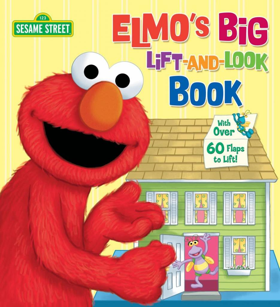 Random House Books for Young Readers Elmo's Big Lift-and-Look Book (Sesame Street)
