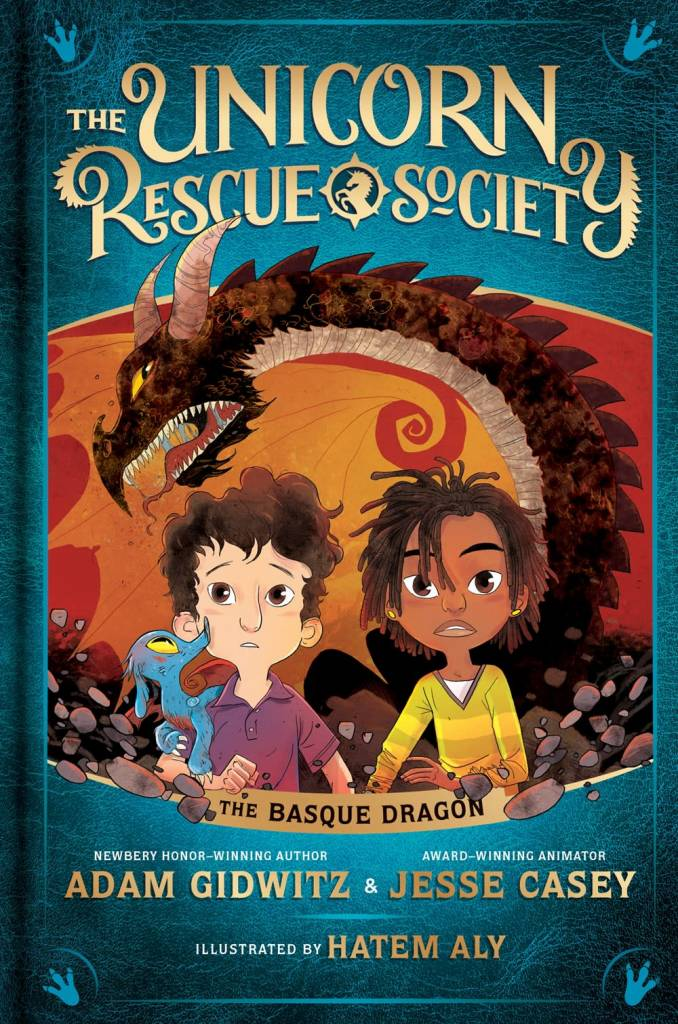 Dutton Books for Young Readers Unicorn Rescue Society 02 The Basque Dragon