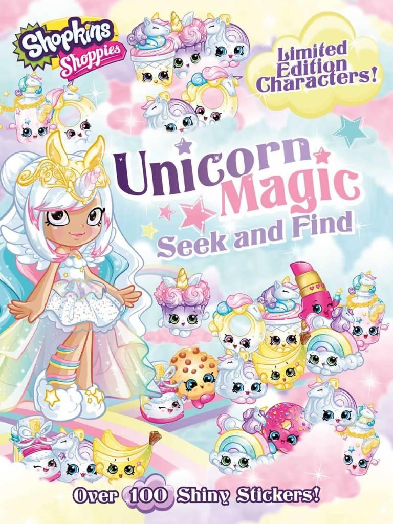 little bee books Shoppies Unicorn Magic Seek and Find