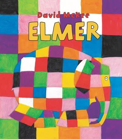 HarperFestival Elmer Padded Board Book