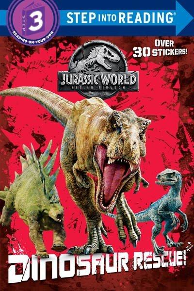 Random House Books for Young Readers Jurassic World Fallen Kingdom: Dinosaur Rescue! (Lvl 3)