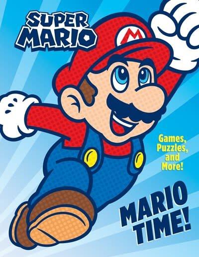Random House Books for Young Readers Mario Time! (Nintendo)