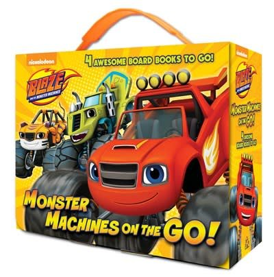 Random House Books for Young Readers Monster Machines on the Go! (Blaze and the MonsterMachines)