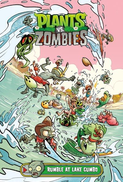 Dark Horse Books Plants vs. Zombies: Rumble at Lake Gumbo