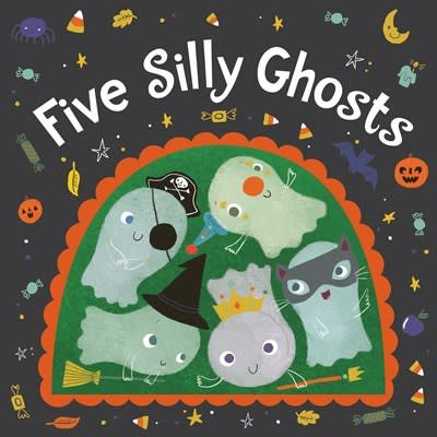 HMH Books for Young Readers Five Silly Ghosts (board book)