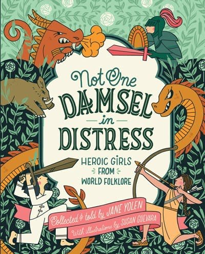 HMH Books for Young Readers Not One Damsel in Distress