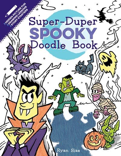 HMH Books for Young Readers Super-Duper Spooky Doodle Book
