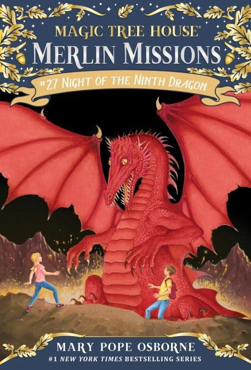 Random House Books for Young Readers Magic Tree House Merlin Missions 27 Night of the Ninth Dragon