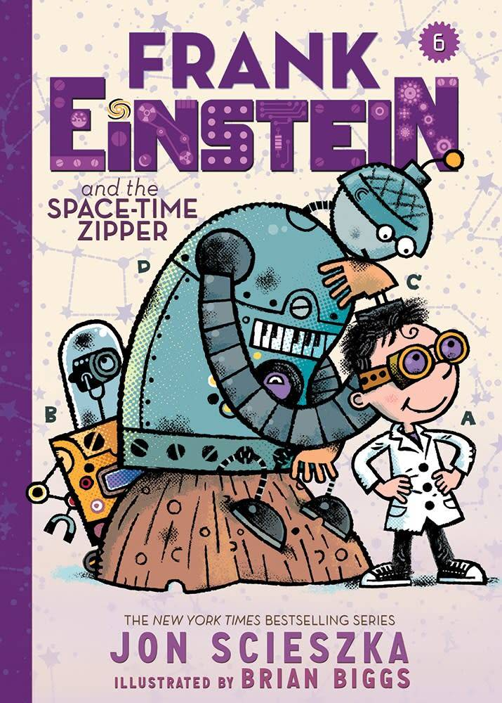 Amulet Books Frank Einstein 06 the Space-Time Zipper