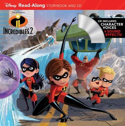 Disney Press Incredibles 2: Read-Along Storybook and CD
