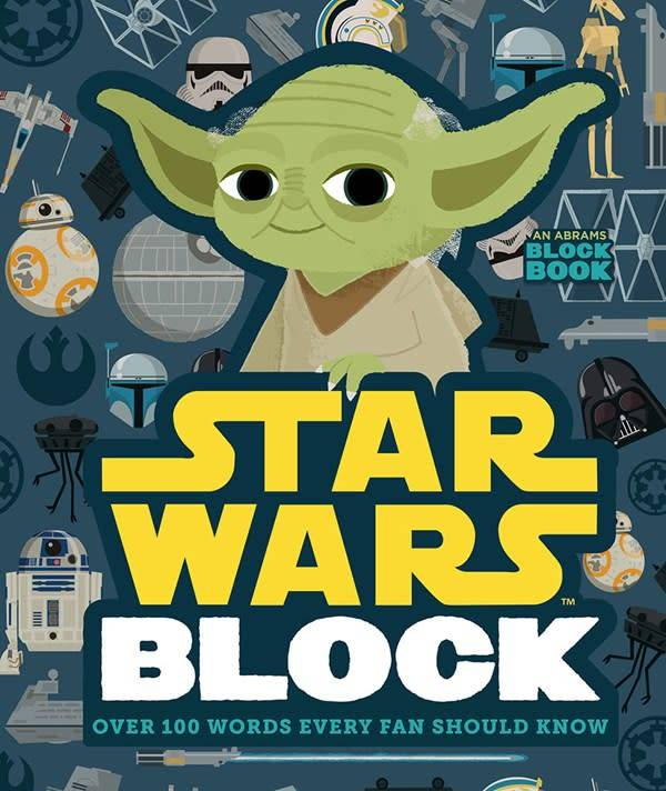 Abrams Appleseed Alphablock: Star Wars Block