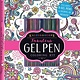 Printers Row Kaleidoscope: Fabulous Gel Pen Coloring Kit