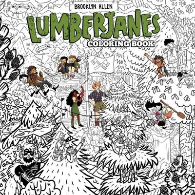 BOOM! Box Lumberjanes Coloring Book