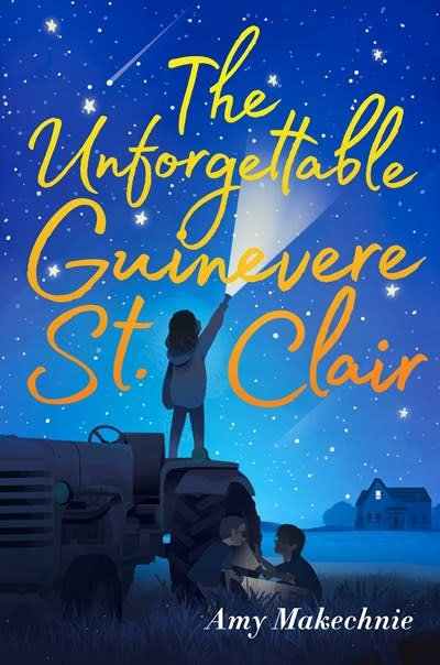 Atheneum Books for Young Readers The Unforgettable Guinevere St. Clair