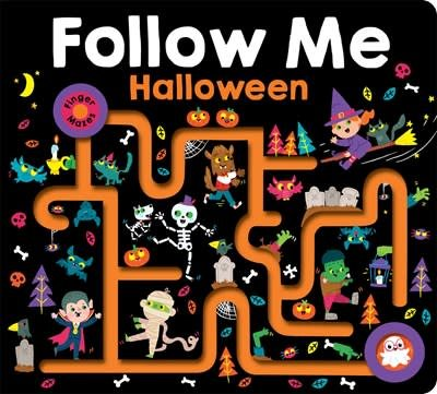 Priddy Books Maze Book: Follow Me Halloween (large edition)